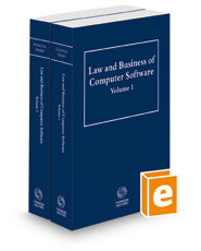 Law and Business of Computer Software, 2d, 2021 ed.