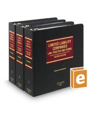 Limited Liability Companies: Law, Practice, and Forms, 2d