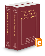 The Law of Electronic Surveillance, 2021-1 ed.