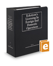 Eckstrom's Licensing in Foreign and Domestic Operations