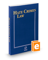 Hate Crimes Law, 2018 ed.
