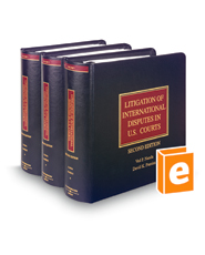 Litigation of International Disputes in U.S. Courts, 2d