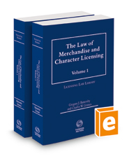The Law of Merchandise and Character Licensing, 2020-2021 ed.