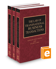 The Law of Transnational Business Transactions, 2020-2021 ed.