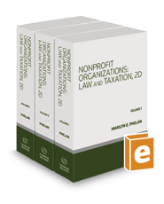 Nonprofit Organizations: Law and Taxation, 2d, 2017-1 ed.
