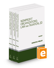 Nonprofit Organizations: Law and Taxation, 2d, 2021-2 ed.