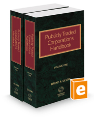 Publicly Traded Corporations Handbook, 2021-1 ed.