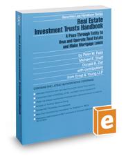 Real Estate Investment Trusts Handbook, 2016-2017 ed. (Securities Law Handbook Series)