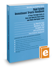 Real Estate Investment Trusts Handbook, 2017-2018 ed. (Securities Law Handbook Series)