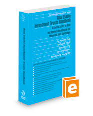 Real Estate Investment Trusts Handbook, 2020-2021 ed. (Securities Law Handbook Series)