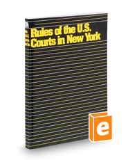 Rules of United States Courts in New York, 2018 ed.