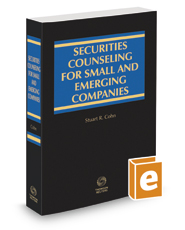 Securities Counseling for Small and Emerging Companies, 2017-2018 ed.