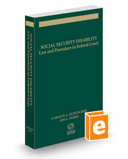 Social Security Disability: Law & Procedure in Federal Court, 2016 ed.