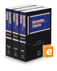 Shareholder Litigation, 2020-2021 ed.