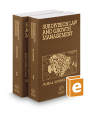 Subdivision Law & Growth Management, November 2016 ed.