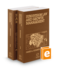 Subdivision Law & Growth Management, November 2017 ed.