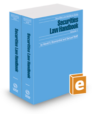 Securities Law Handbook, 2017 ed. (Securities Law Handbook Series)