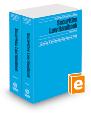 Securities Law Handbook, 2018 ed. (Securities Law Handbook Series)
