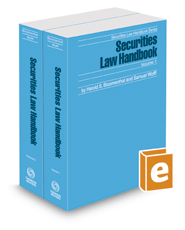 Securities Law Handbook, 2020 ed. (Securities Law Handbook Series)
