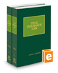 Title Insurance Law, 2020 ed.