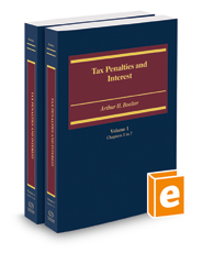 Tax Penalties and Interest, 2017-2018 ed.