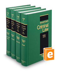 Wharton's Criminal Law, 15th