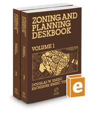 Zoning and Planning Deskbook, 2019-2020 ed.