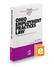 Ohio Employment Practices Law, 2015-2016 ed. (Baldwin's Ohio Handbook Series)