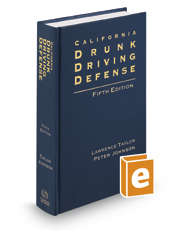 California Drunk Driving Defense, 5th
