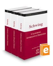 California Affirmative Defenses, 2018 ed. (The Expert Series)