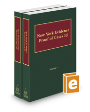 New York Evidence—Proof of Cases, 2016-2017 ed.
