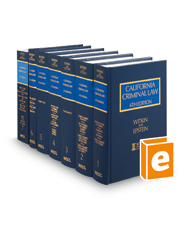 California Criminal Law, 4th (Witkin Library)