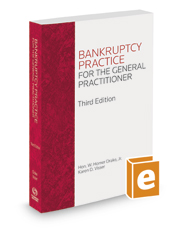 Bankruptcy Practice for the General Practitioner, 3d, 2020 ed.