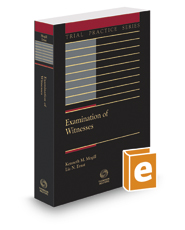 Examination of Witnesses, 2d, 2017-2018 ed.