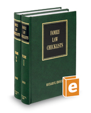 Family Law Checklists