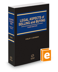 Legal Aspects of Selling and Buying, 3d, 2015-2016 ed.