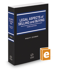 Legal Aspects of Selling and Buying, 3d, 2018-2019 ed.