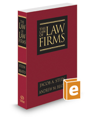 The Law of Law Firms, 2d, 2017 ed.