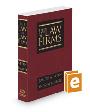 The Law of Law Firms, 2d, 2020 ed.