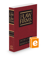 The Law of Law Firms, 2d, 2021 ed.