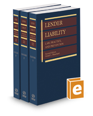 Lender Liability: Law, Practice and Prevention, 2d, 2019 ed.