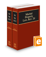 Marital Property Law, rev. 2d, 2018 ed.