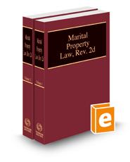 Marital Property Law, rev. 2d, 2021 ed.