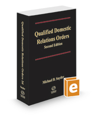 Qualified Domestic Relations Orders, 2d, 2020-2021 ed.