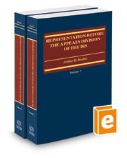 Representation Before the Appeals Division of the IRS, 2017-2018 ed.