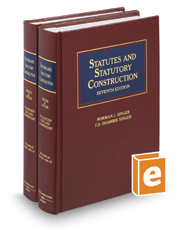 Sutherland Statutes and Statutory Construction