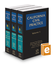 Torts (California Civil Practice), 2017-1 ed.