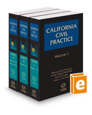 Torts (California Civil Practice), 2018-1 ed.