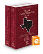Environmental Law, 2020-2021 ed. (Vols. 45 and 46, Texas Practice Series)