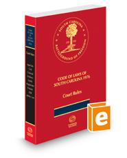 South Carolina Annotated Court Rules, 2018 ed.